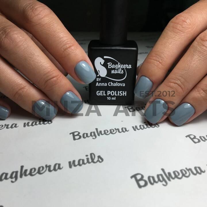 BN-06, Светло-серый Гель-лак BAGHEERA NAILS