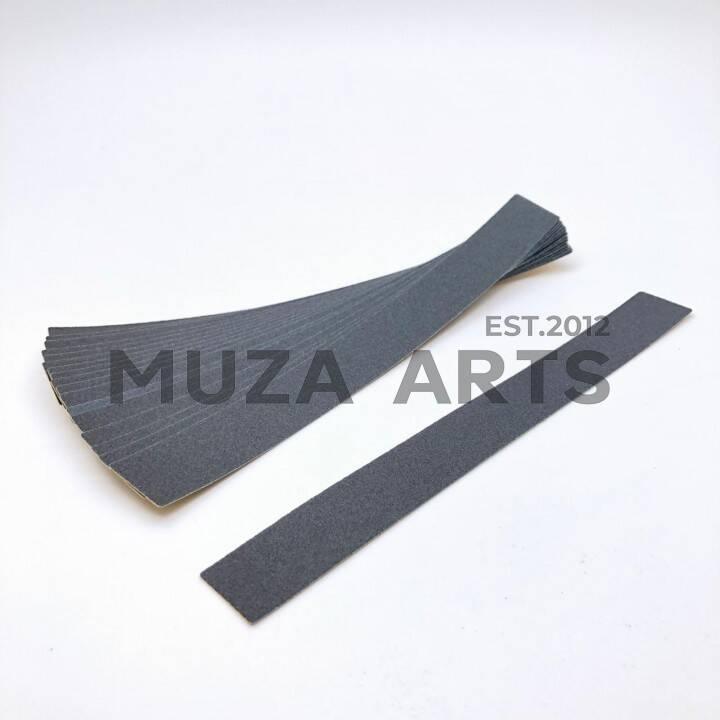 """BSK-03, Сменные картриджи BAGHEERA NAILS """"длинная"""" 180 грит 50 шт чёрный, 16см"""